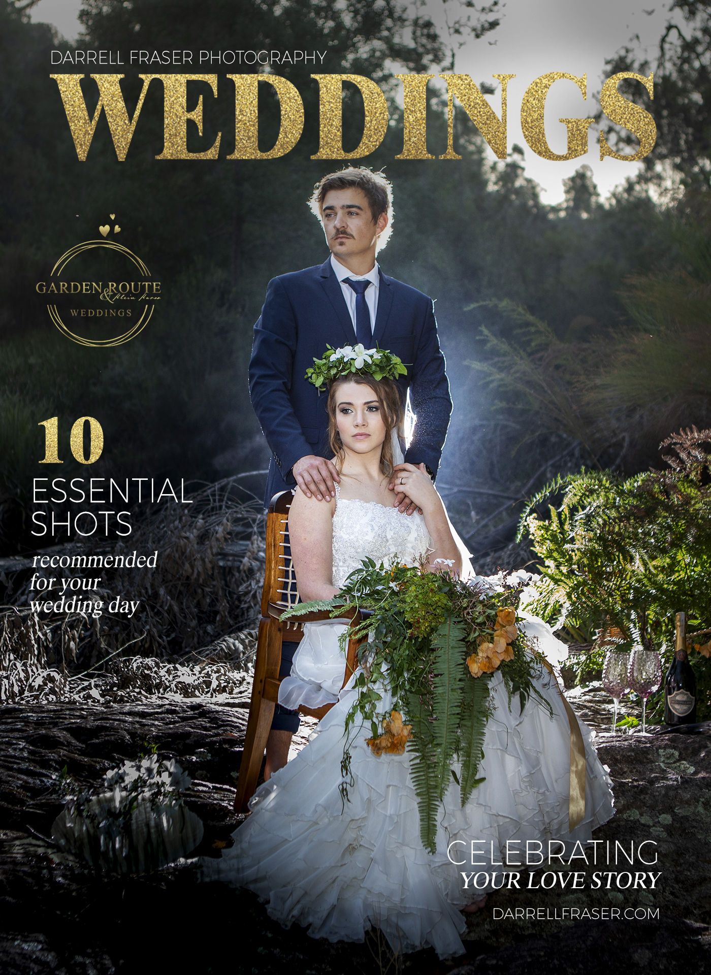 Darrell Fraser Award Winning Garden Route Wedding Photographer and Graphic Designer