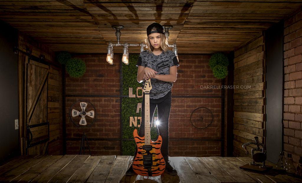 Darrell Fraser Child Model Photographer