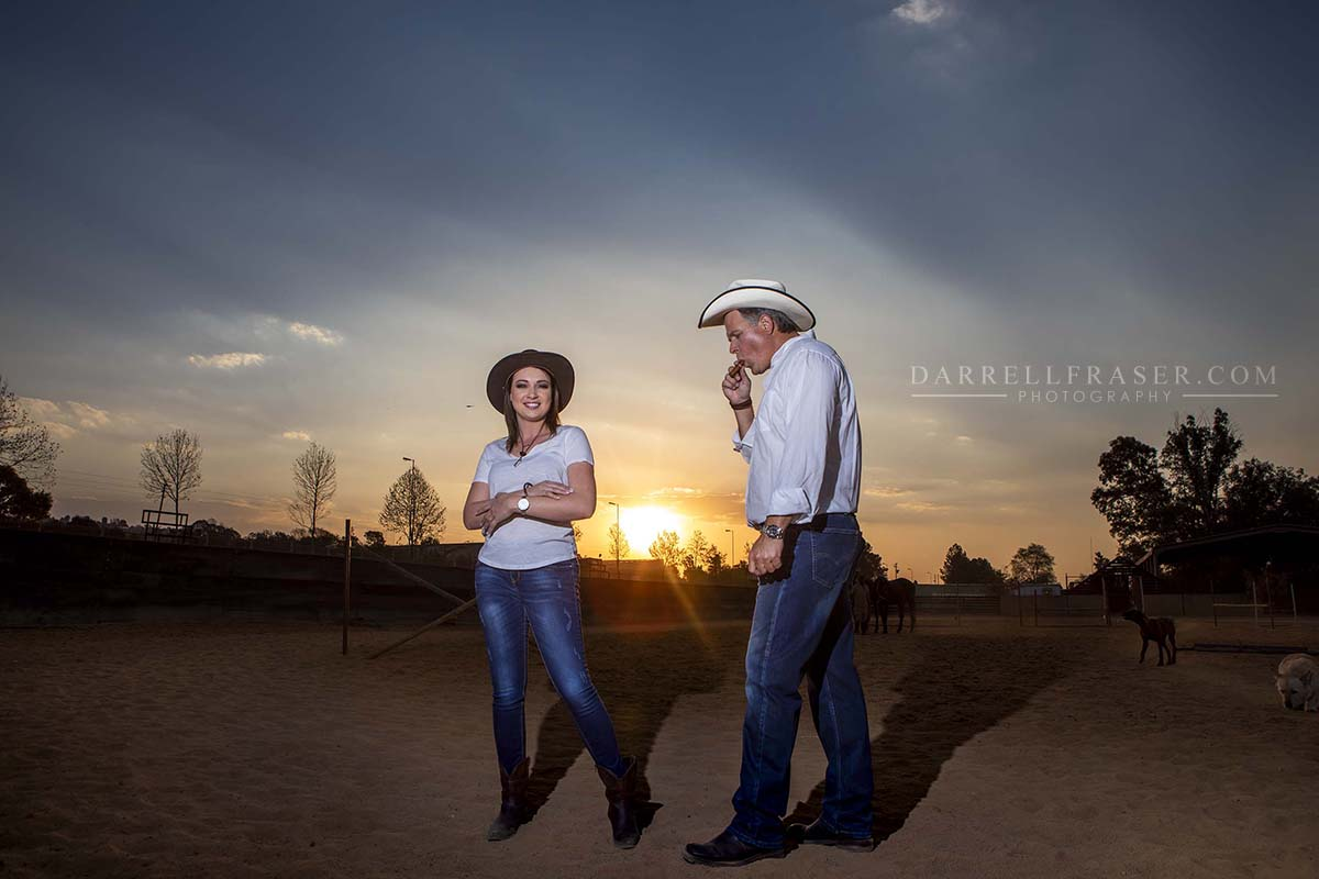 Darrell Fraser Pretoria Engagement Photographer Bronwyn Lourens Farm Barn