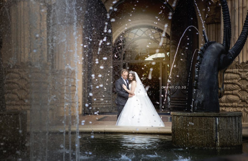 Sun City Lost Palace Wedding Photographer Darrell Fraser