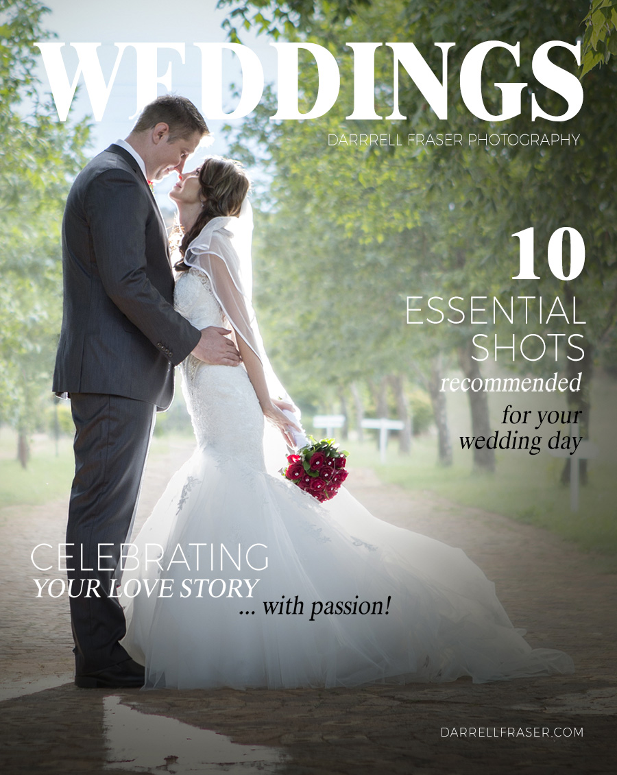 Darrell Fraser Wedding Magazine