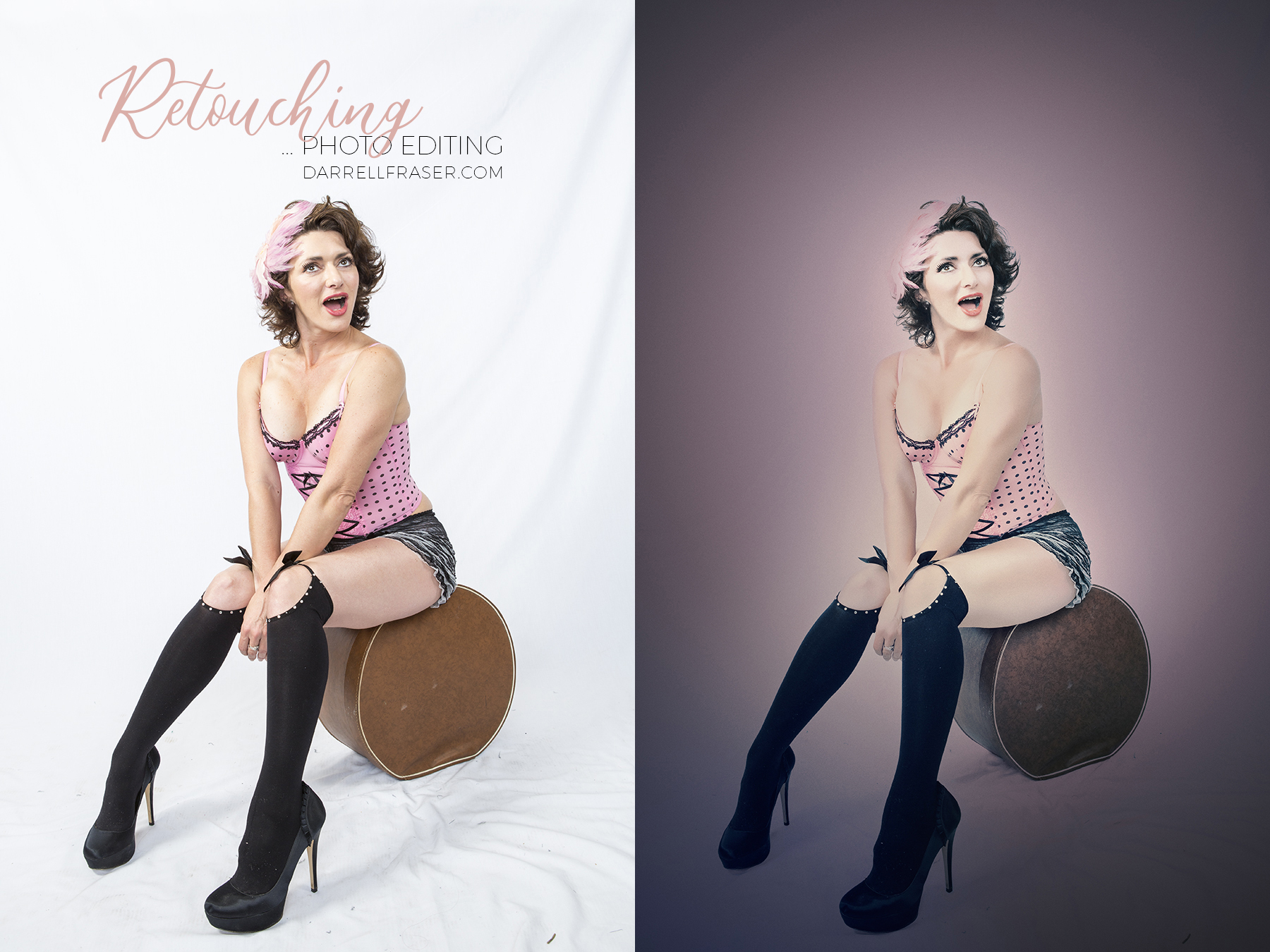 Photo Retouching Services by Darrell Fraser