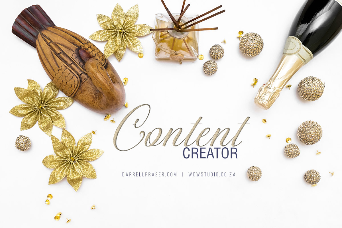 Darrell Fraser Product Photographer and Stylist Content Creator