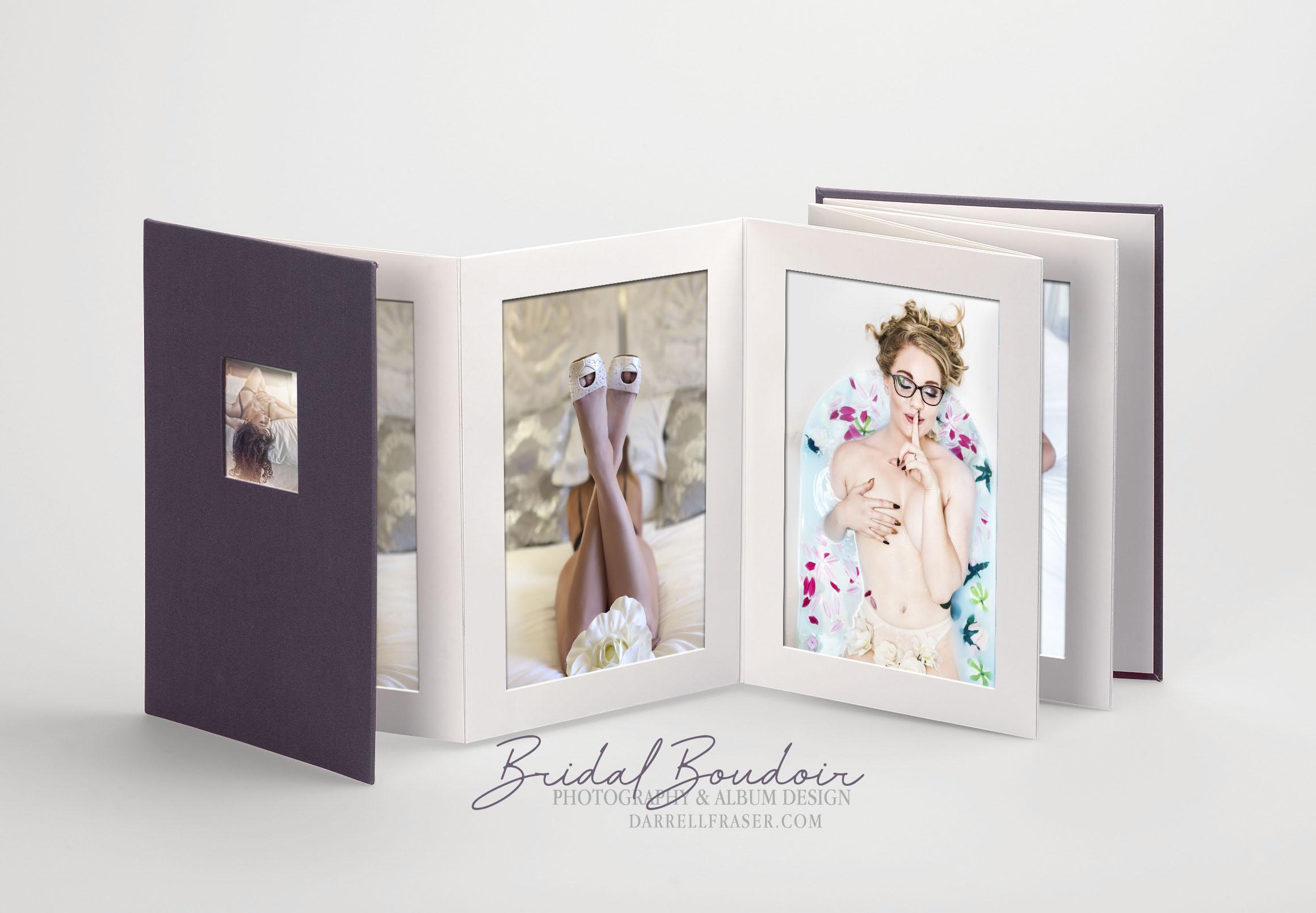 Darrell Fraser Boudoir Photography and Album Designs
